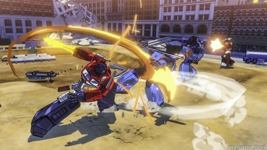 Transformers Devastation fight Watch This New Transformers Devastation BTS Video Watch This New Transformers Devastation BTS Video Transformers Devastation fight