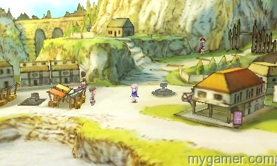 Whimsical art style The Legend of Legacy 3DS Review The Legend of Legacy 3DS Review the legend of legacy nintendo 3ds screenshot 1