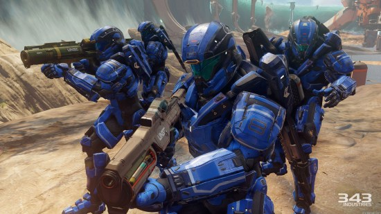 Halo 5 blue five of my fave games of 2015 Fave Games of 2015 – Editor In Chief of myGamer.com Halo 5 blue