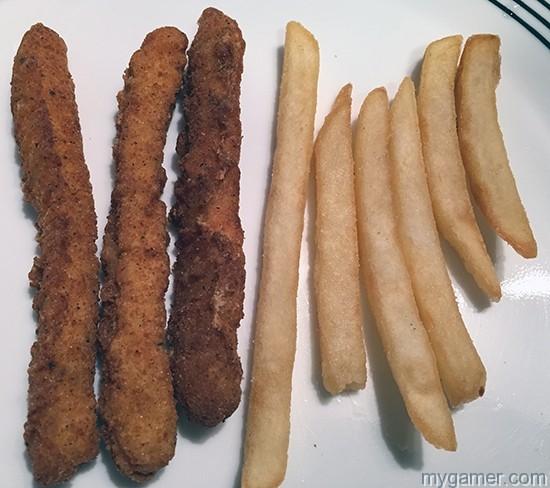 Chicken Fry vs Reg Fry