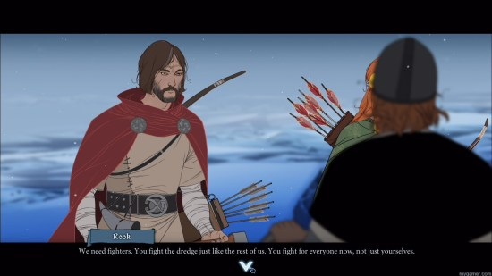 This should be fully animated!  The Banner Saga Xbox One Review The Banner Saga Xbox One Review Banner Saga scene