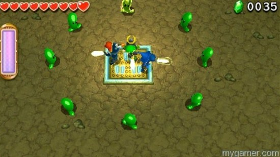 Must work as a team the entire time Legend of Zelda: Tri Force Heroes 3DS Review Legend of Zelda: Tri Force Heroes 3DS Review LoZ Tri Force Heroes Slmies