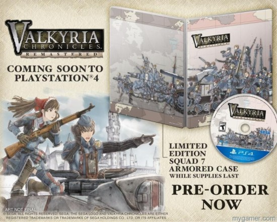 Valkyria Chron PS4 LE Valkyria Chronicles Remastered Will Deploy in the West on PlayStation 4 Valkyria Chronicles Remastered Will Deploy in the West on PlayStation 4 Valkyria Chron PS4 LE