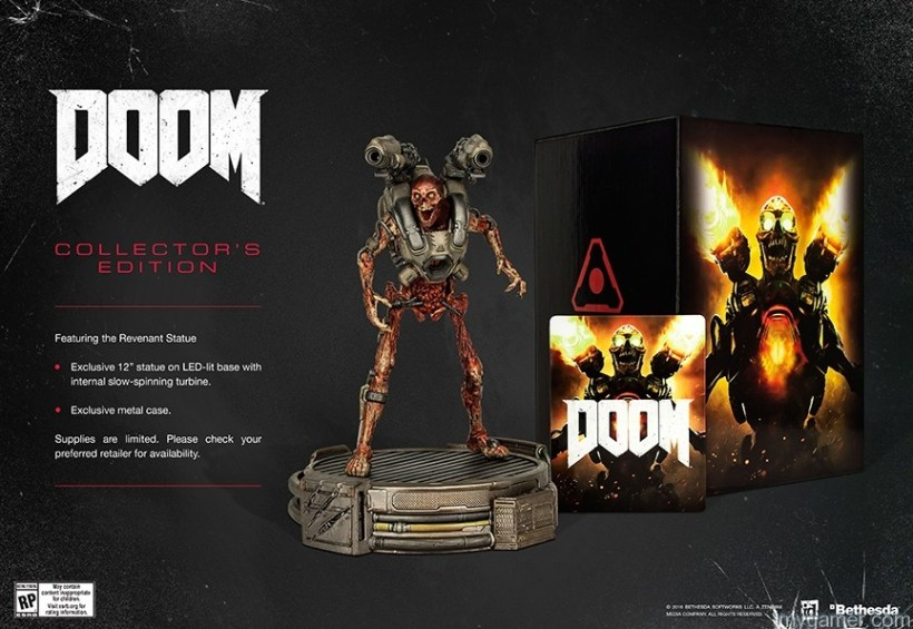 DOOM_CE Doom is Coming Mid-May with Collector's Edition Doom is Coming Mid-May with Collector's Edition DOOM CE
