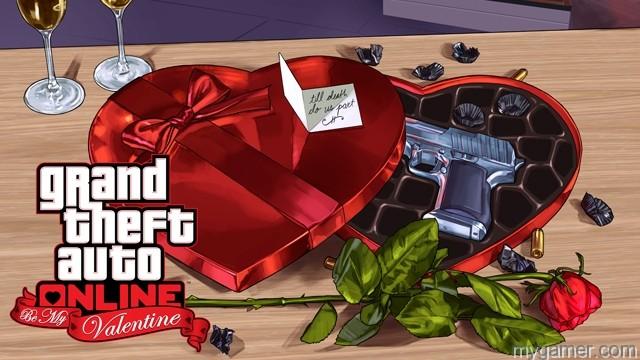 Grand Theft Auto Online Be My Valentine Grand Theft Auto Online: Be My Valentine now available Grand Theft Auto Online: Be My Valentine now available GTAO BMV 640x360