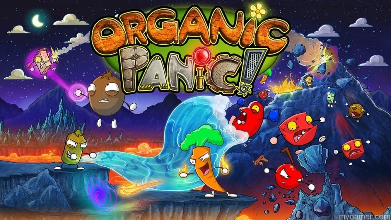 Organic Panic Now Available on PS4, Soon for Xbox One and PC Organic Panic Now Available on PS4, Soon for Xbox One and PC Organic Panic banner