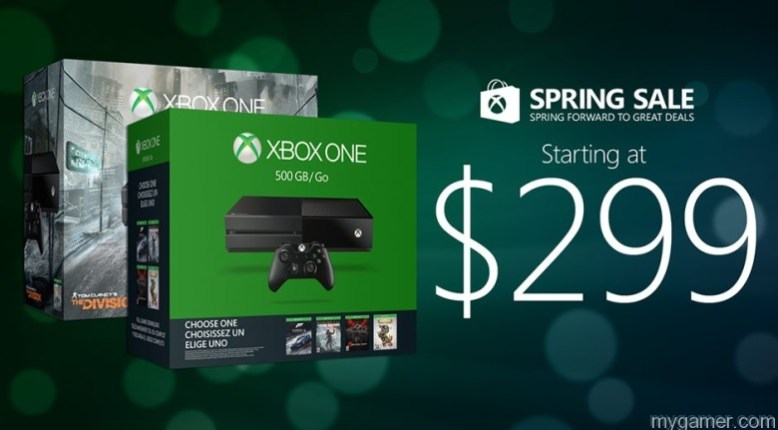 Xbox Spring Sale Starts March 20, 2016 - Console and Games Price Drops Xbox Spring Sale Starts March 20, 2016 – Console and Games Price Drops Xbox One 2016 springsalehero