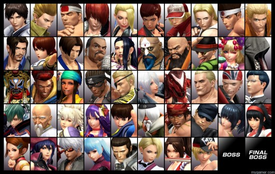 KOF XIV 50characters KoF XIV Launches in Aug With Special Day 1 Edition and Free DLC KoF XIV Launches in Aug With Special Day 1 Edition and Free DLC KOF XIV 50characters