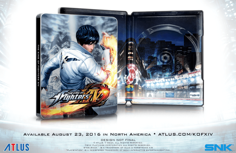 Here's What's Inside the The King of Fighters XIV Burn to Fight Premium Edition Here's What's Inside the The King of Fighters XIV Burn to Fight Premium Edition KOFGlam NoText
