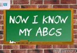 Now I Know My ABCs Wii U eShop Review Now I Know My ABCs Wii U eShop Review Now I Know My ABCs Banner