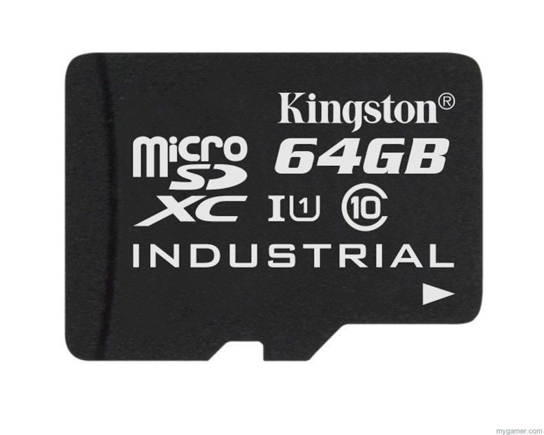 microSD Industrial Temp Card UHS I 64GB