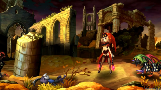 Odin Sphere Leif red