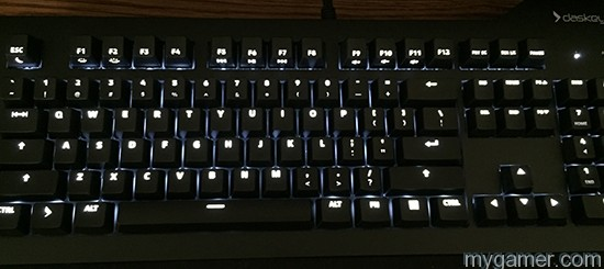 Difficult to tell from this pic but this is the board lit up Das Keyboard Prime 13 Review Das Keyboard Prime 13 Review Das Keyboard Prime13 Lit Up1