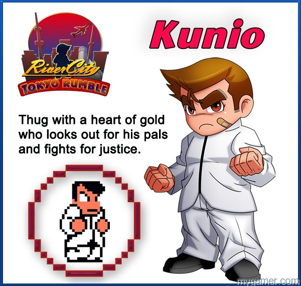 Learn About River City: Tokyo Rumble's Cast Here Learn About River City: Tokyo Rumble's Cast Here Kunio1