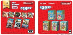 Nintendo selects amiibno