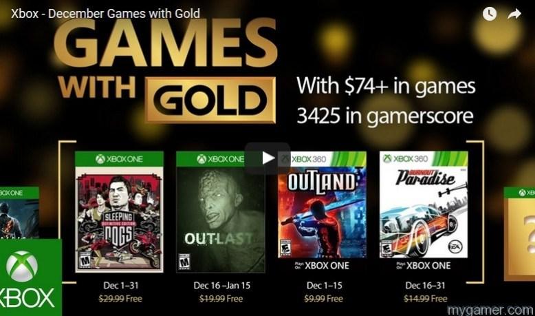 Xbox Live's Games With Gold Dec 2016 Announced Xbox Live's Games With Gold Dec 2016 Announced Games With Gold Dec 2016