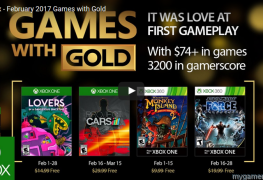 Xbox Games With Gold Feb 2017
