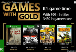 These Are the Four Free Xbox Games for Gold Members for March 2017 These Are the Four Free Xbox Games for Gold Members for March 2017 Xbox Games Gold March 2017