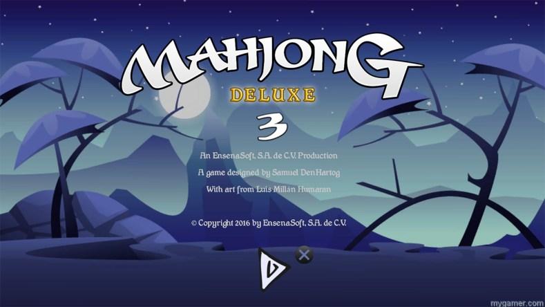 Mahjong Deluxe 3 PS4 banner