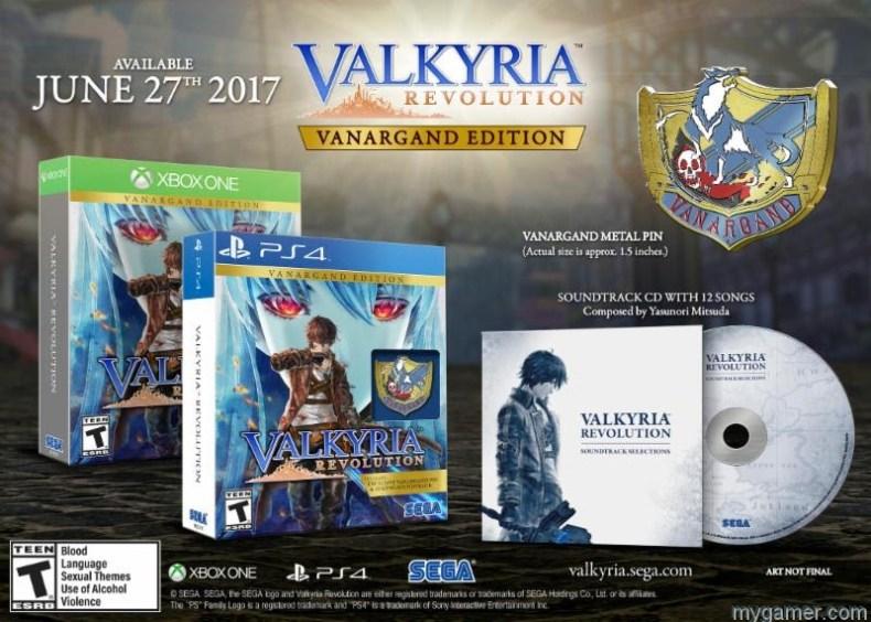 Valkyria Revolution Release Date Announced And New Trailer Here Valkyria Revolution Release Date Announced And New Trailer Here Valkyria Revolution boxset