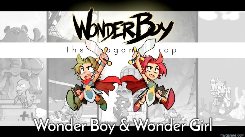 WONDER BOY: THE DRAGON'S TRAP INTRODUCES WONDER GIRL WONDER BOY: THE DRAGON'S TRAP INTRODUCES WONDER GIRL Wonderboy Wonder Girl Dragons Trap
