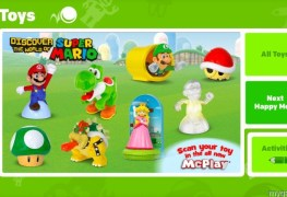 Nintendo Happy Meal Toys Coming Soon to McDonalds Nintendo's Super Mario Happy Meal Toys Coming Soon to McDonald's Mario McDonalds 2017