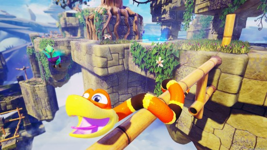 Snake Pass Xbox One Review Snake Pass Xbox One Review with Stream snake pass screen 01 ps4 us 16feb17