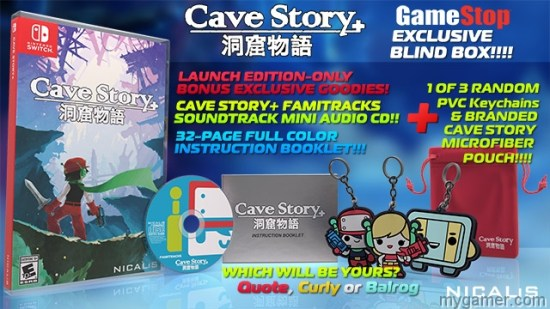 Cave Story Plus Switch physical