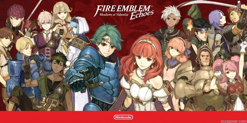 [object object] Fire Emblem Echoes – Shadows of Valentia 3DS Review Fire Emblem Echoes banner