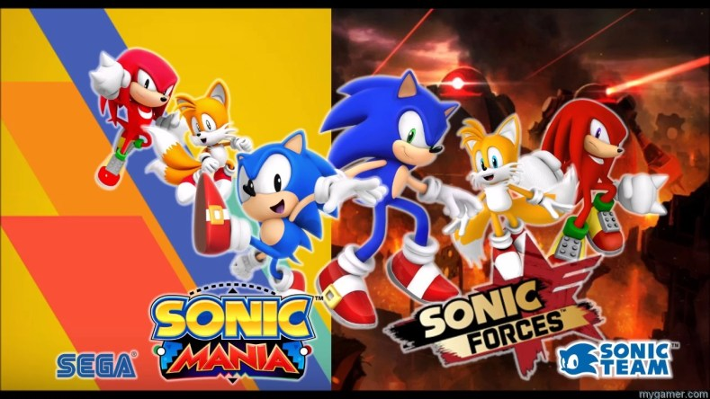 Sonic Mania Forces banner