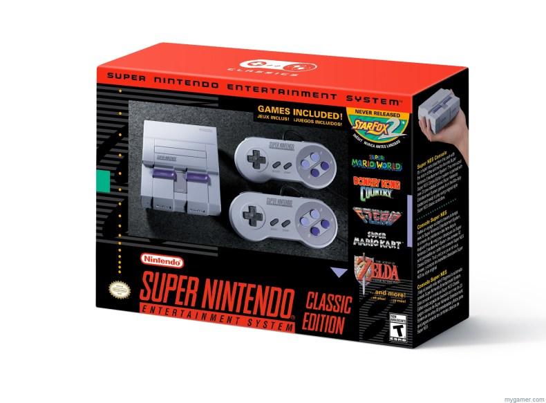 Super NES Classic Edition nintendo increases inventory of super nes classic edition; nes classic edition returns to stores in 2018 Nintendo Increases Inventory of Super NES Classic Edition; NES Classic Edition Returns to Stores in 2018 SNES Mini Box