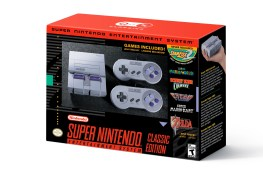 Super NES Classic Edition nintendo increases inventory of super nes classic edition; nes classic edition returns to stores in 2018 Nintendo Increases Inventory of Super NES Classic Edition; NES Classic Edition Returns to Stores in 2018 SNES Mini Box