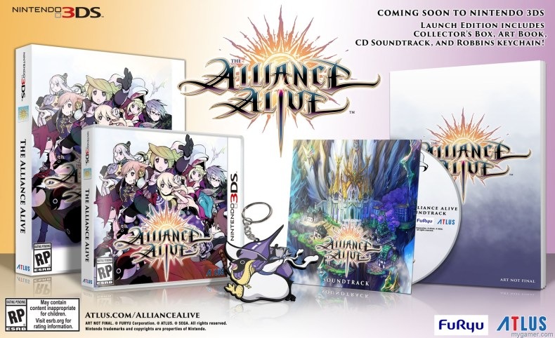 the alliance alive launch edition comes with an exclusive soundtrack, art book and robbins keychain The Alliance Alive Launch Edition Comes with Exclusive Stuff AA GlamShot Launch 01b