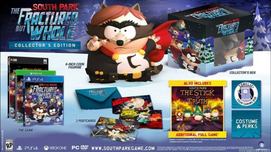 you know what sucks… collector editions need to be better You Know What Sucks… Collector Editions Need to be Better South Park Fractured But Whole collectors edition lockup