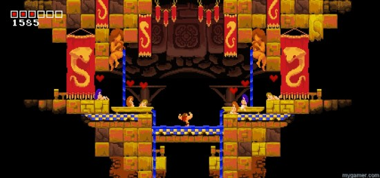 Tiny Barbarian DX Switch screen 2