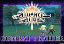 """learn about """"battle arts"""" and the """"ignition"""" system in the alliance alive on 3ds Learn About """"Battle Arts"""" and the """"Ignition"""" system in The Alliance Alive on 3DS Alliance Alive trailer banner"""