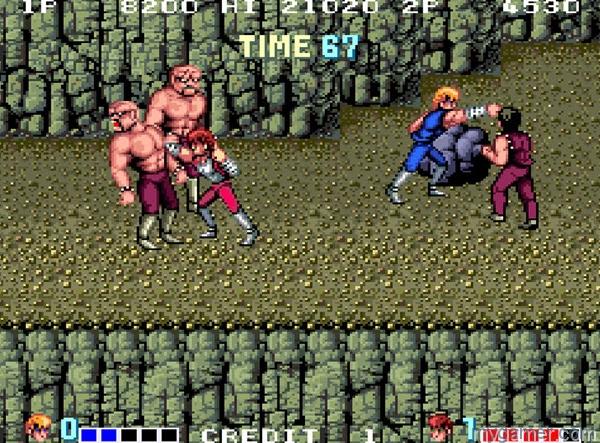Double Dragon arcade 2