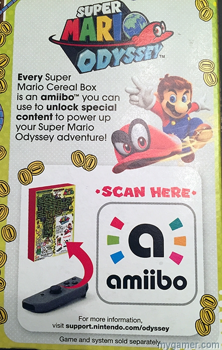 gamer's gullet – super mario cereal review Gamer's Gullet – Super Mario Cereal Review Super Mario Cereal amiiboBox