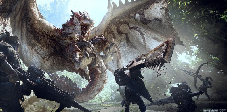 mygamer visual cast - monster hunter world ps4 MyGamer Visual Cast – Monster Hunter World PS4 monster hunter world recensione apertura