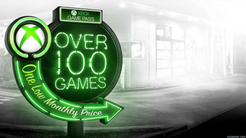 Xbox game pass 100 games
