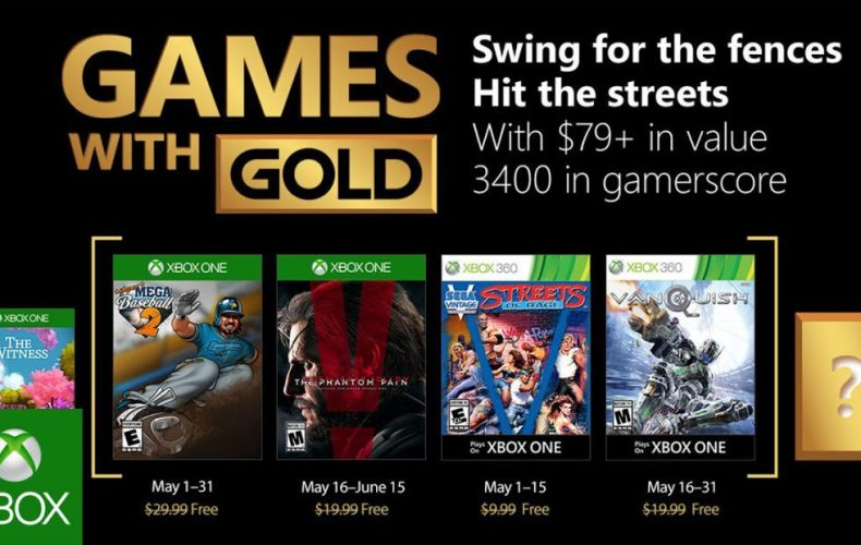 these are the free xbox games for may 2018 These are the free Xbox games for May 2018 Games with Gold May 2018