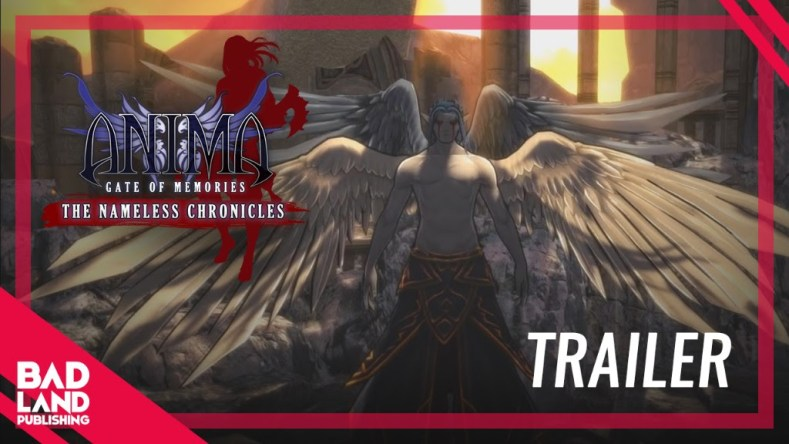 [object object] Anima: Gate of Memories, The Nameless Chronicles trailer here Anima Gate of Memories
