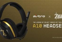Astro A10 Zelda BotW