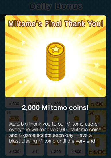 psa - miitomo shutting down PSA – Miitomo Shutting Down Now Miitomo coins