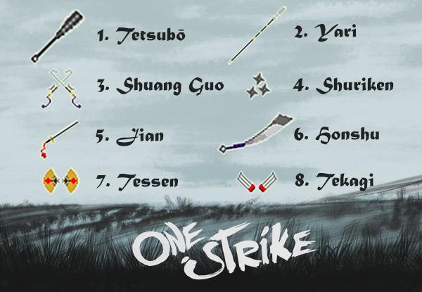 One Strike update options