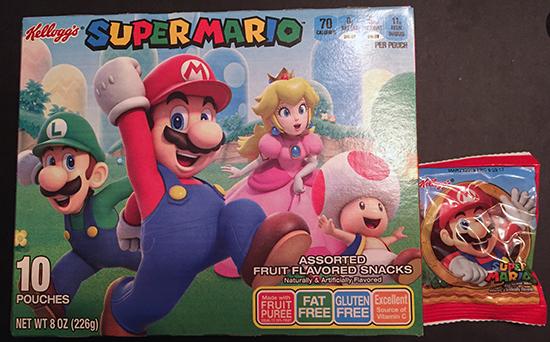 Kelloggs Mario Fruit Snacks