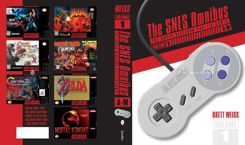 the snes omnibus: the super nintendo and its games, vol. 1 (a–m) book review The SNES Omnibus: The Super Nintendo and Its Games, Vol. 1 (A–M) Book Review SNES Omnibus Vol1 cover banner