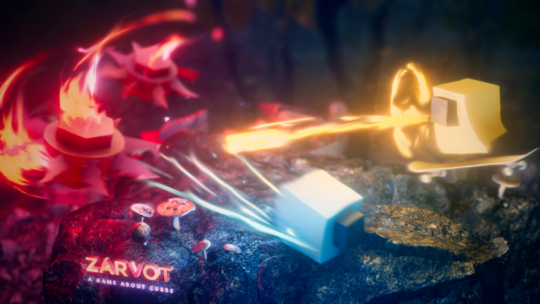zarvot, a game about cubes, coming to switch next week Zarvot, a game about cubes, coming to Switch next week Zarvot 1