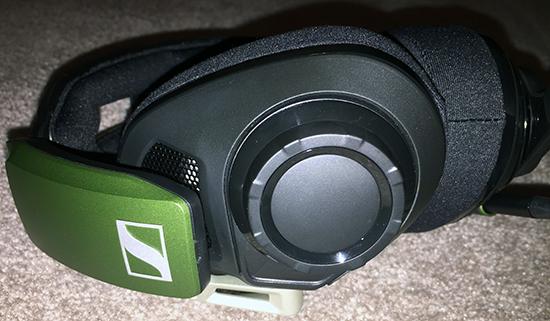 Sennheiser GSP550 Headset volume
