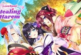 lovekami -healing harem (pc) review LoveKami -Healing Harem (PC) Review Love Kami Healting Harem